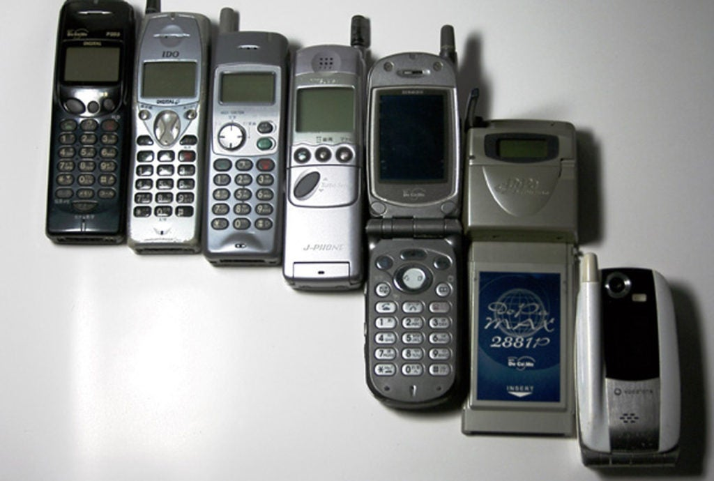 older cell phones without apps