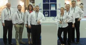 VPG Sales at trade show.