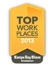 Top Workplaces 2013 badge