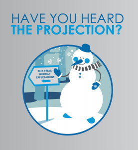 holiday snowman graphic