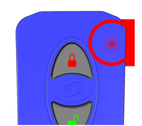 IR Keyfob Battery Check