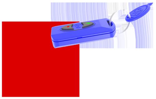 IR Keyfob Emissions