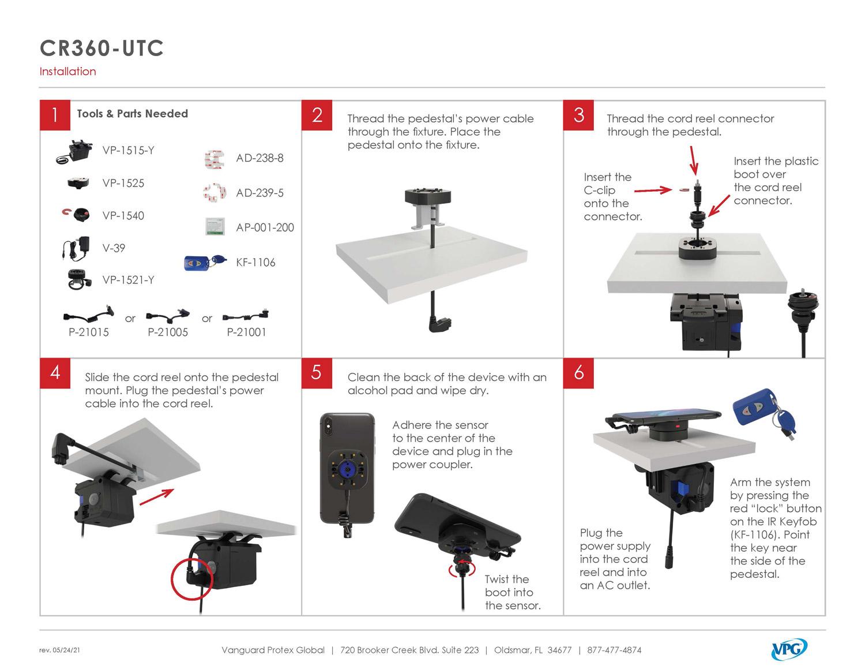 Verizon CR360-UTC - Step by Step 1