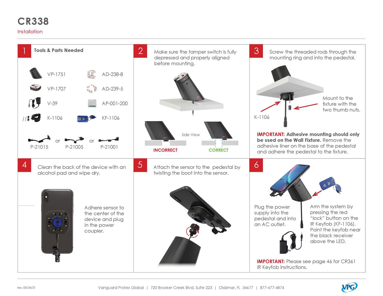 Verizon CR338 - Step by Step