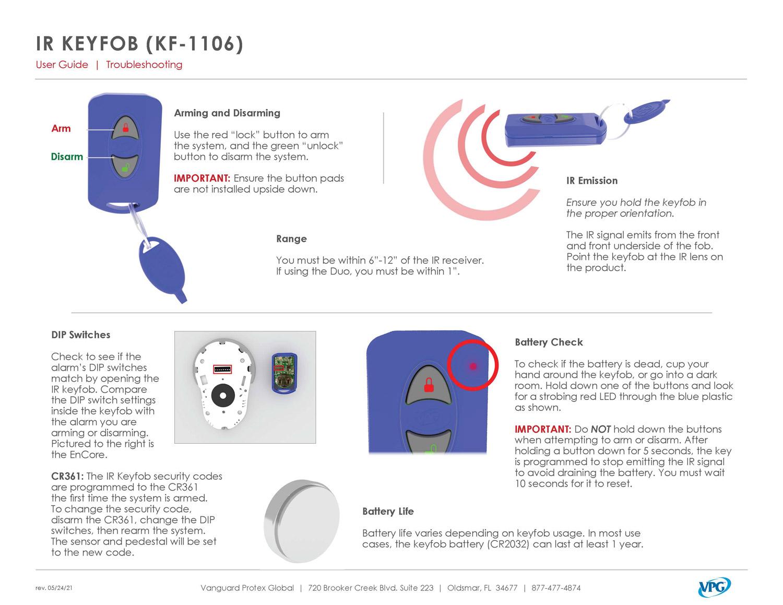 Verizon IR Keyfob-361 - Step by Step 1