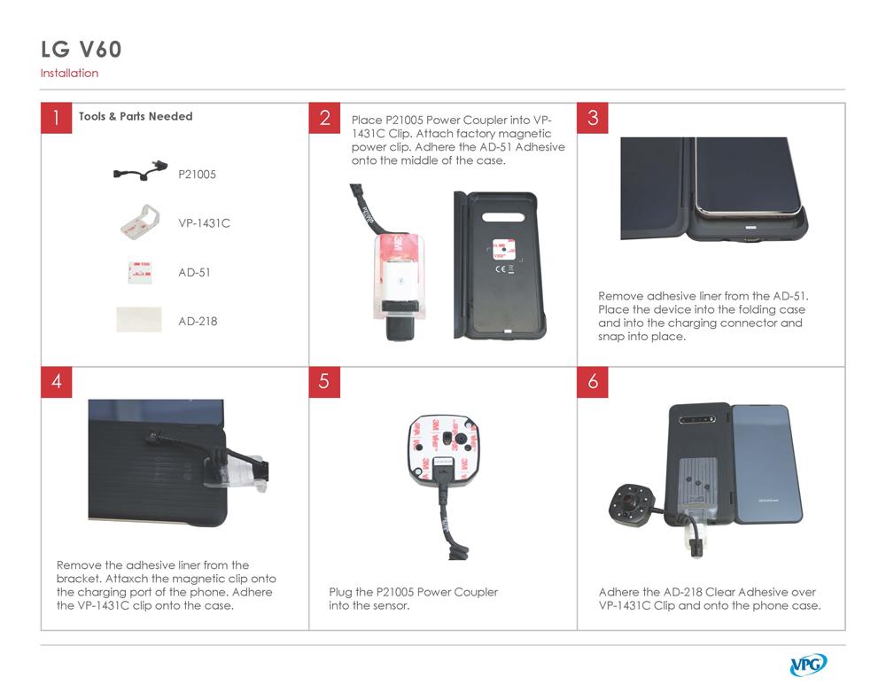 Verizon LG-V60 Step by Step 1