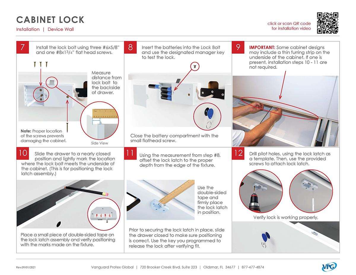 Verizon Smart Store - Cabinet Lock Install_pg 2