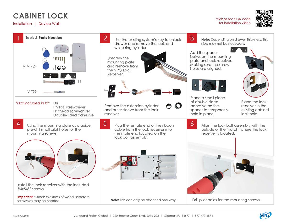 Verizon Smart Store - Cabinet Lock Install_pg 1