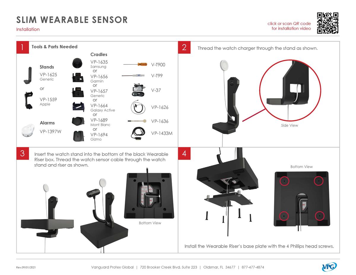 Verizon Smart Store - Wearable Install_pg 1